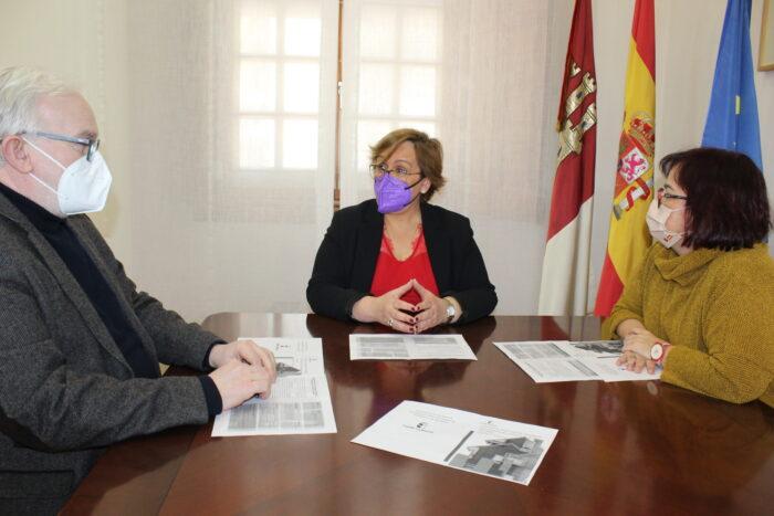 Casto Sánchez, Carmen Olmedo y Manoli Nieto-Márquez
