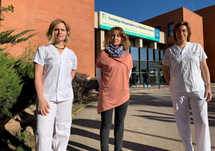Enfermeras del Hospital Mancha Centro