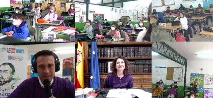 Entrevista Ministra y Portavoz María Jesús Montero