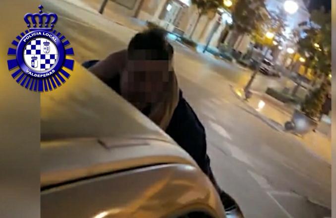 La Policía Local de Valdepeñas abre diligencias a una conductora por un delito contra la seguridad vial