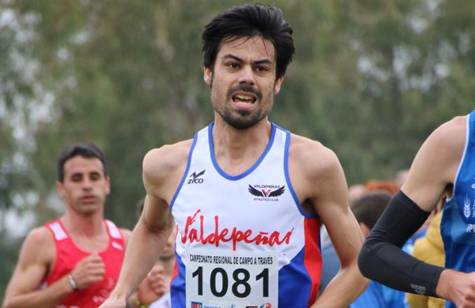 Fernando González-Mohíno subcampeón de CLM  de 10.000 metros