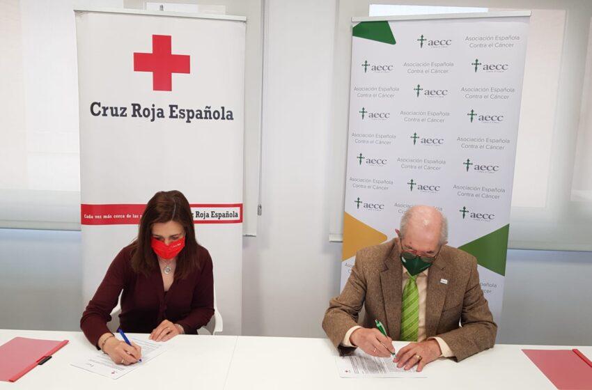 Cruz Roja y la AECC se unen para ofrecer el servicio de 'Teleasistencia domiciliaria'