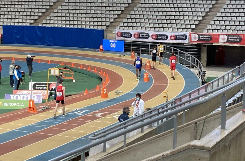 Asabu Pinés, del Valdepeñas Athletics Club, séptimo en el Campeonato de España Sub-18