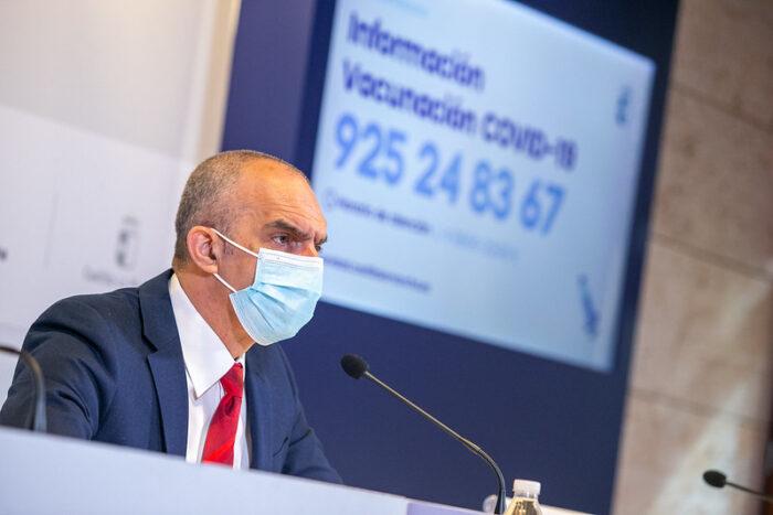 CLM pone a disposición de la ciudadanía dos canales de información para solucionar todas las dudas en torno a la Estrategia de vacunación del COVID-19