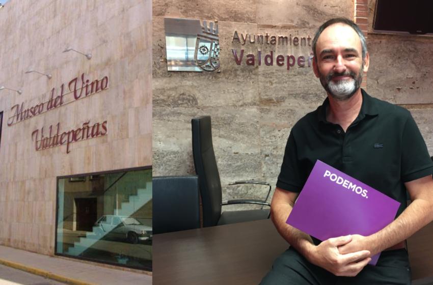 Podemos denuncia irregularidades contables y de contratación en la Fundación Museo del Vino de Valdepeñas