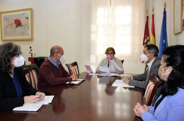 Reunión con el alcalde