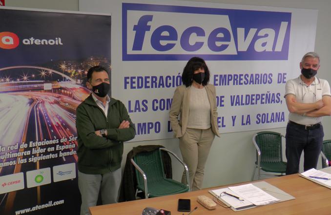 Feceval firma un convenio de colaboración con Atenoil