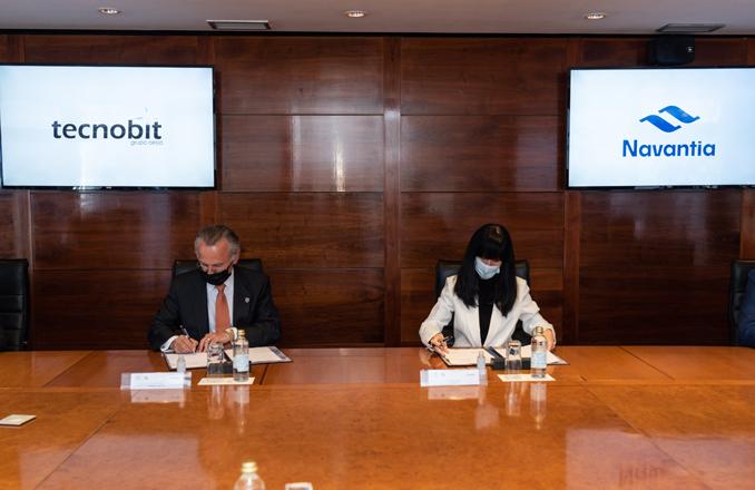 Navantia y Tecnobit – Grupo Oesía firman un acuerdo de colaboración en Defensa y seguridad