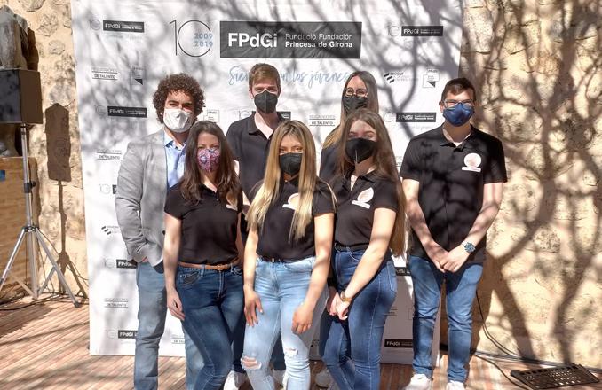 Un equipo del IES Gregorio Prieto será finalista nacional en el telereto de innovación y creatividad de la Fundación Princesa de Girona