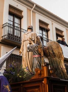 Veneración de las imágenes de Jesús Orando en el Huerto y María Santísima de la Amargura
