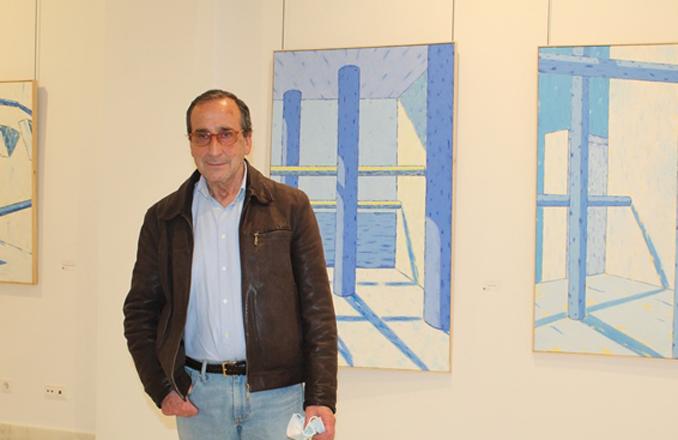 Manuel Moreno: «Volver a exponer en mi ciudad me ha dado alegría e ilusión por seguir»