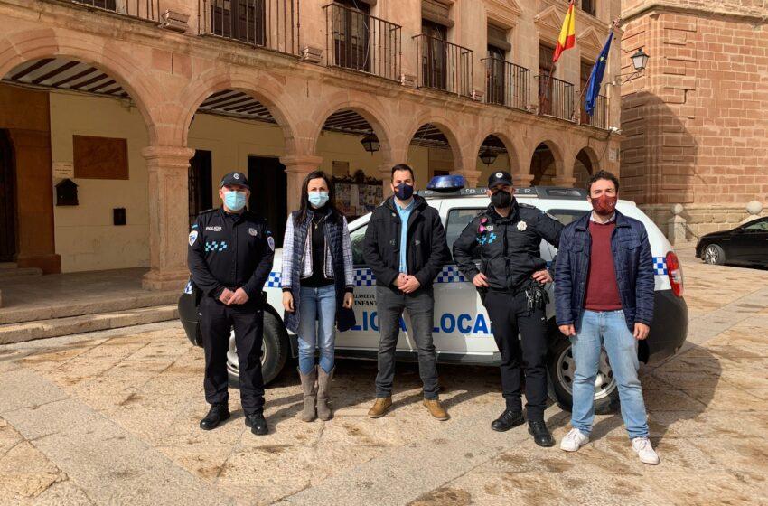 Villanueva de los Infantes cuenta con un nuevo agente de la Policía Local