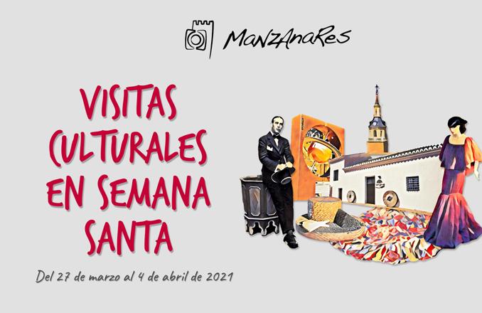 El Ayuntamiento de Manzanares propone visitas culturales para pasar una Semana Santa diferente