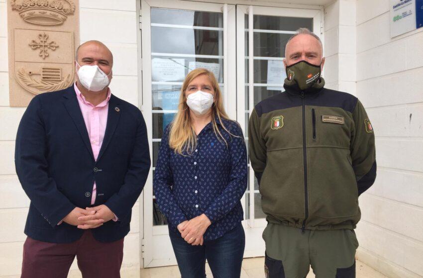 El Gobierno de CLM estudia con los alcaldes de San Lorenzo de Calatrava y Mestanza la situación del Parque Natural del Valle de Alcudia y Sierra Madrona