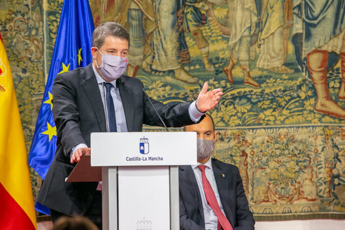 García-Page presenta junto al presidente canario el convenio de cooperación entre ambas comunidades sobre Historia Clínica Electrónica