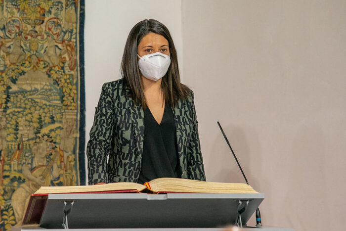 Bárbara García Torijano coge el testigo de consejera Bienestar Social  en Castilla-La Mancha