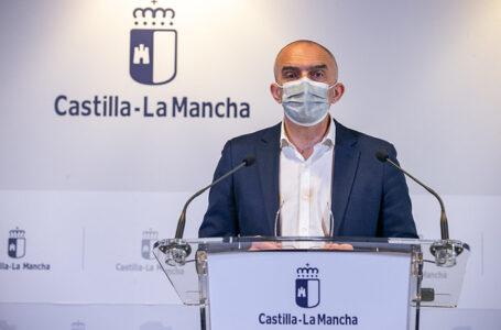 El director general de Salud Pública, Juan Camacho, informa de la incidencia de la pandemia de coronavirus en Castilla-La Mancha y del proceso de vacunación. (Fotos: A. Pérez Herrera // JCCM)