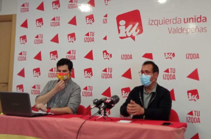 Izquierda Unida Valdepeñas felicita a su Coordinador Regional, Juan Ramón Crespo, tras su incorporación al equipo de la Secretaría de Estado para la Agenda 2030