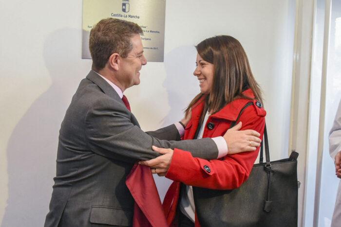 Emiliano García-Page y Bárbara García Torijano