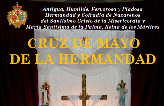Misericordia y Palma retoma la instalación de la tradicional Cruz de Mayo