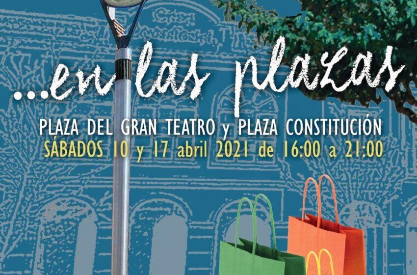 Comercio y empresas locales muestran sus productos en las plazas de Manzanares