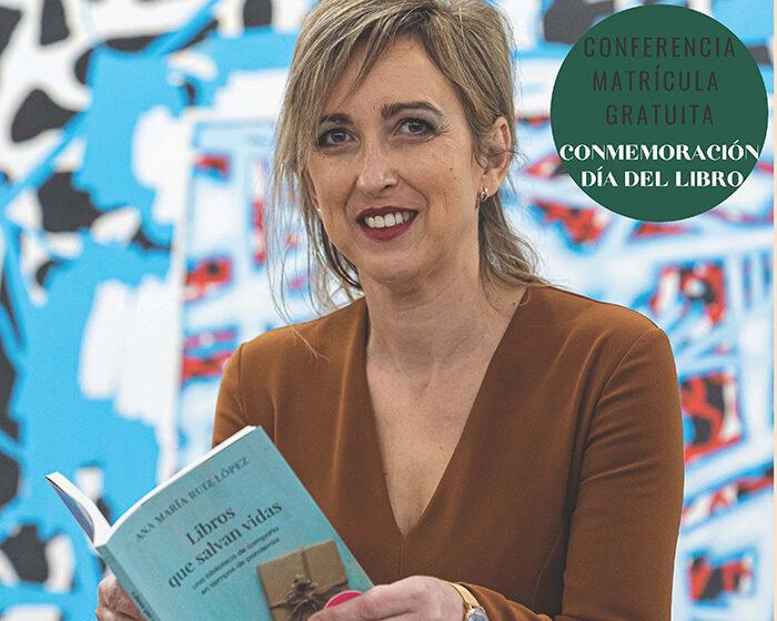 Ana María Ruiz López, enfermera del Servicio de Urgencias Médicas de Madrid SUMMA 112, impartirá en la UNED de Ciudad Real la conferencia «Libros que salvan vidas. La importancia de la biblioterapia»