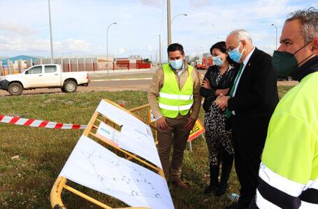 Inicio Obras Polígono Sector 5 de Manzanares