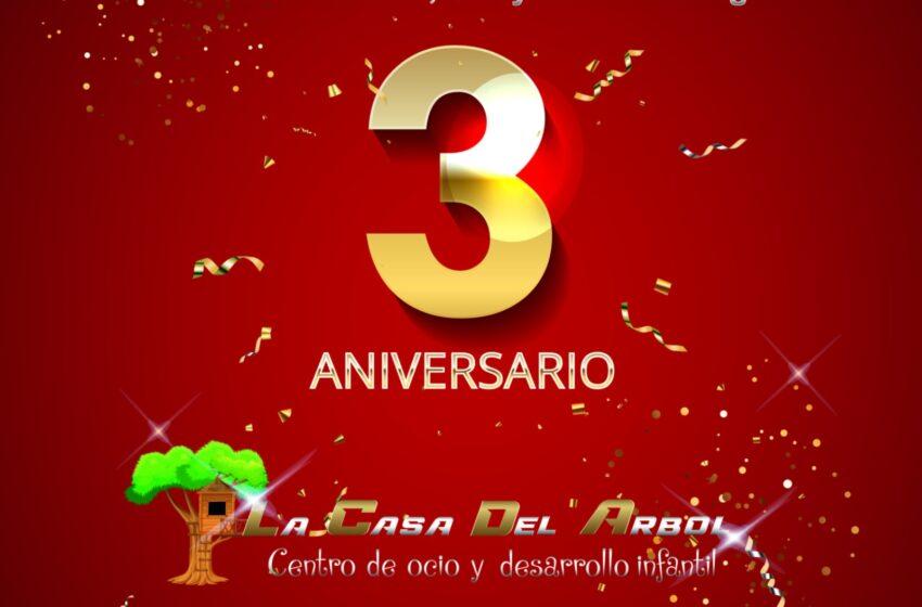 La Casa del Árbol celebra su 3er cumpleaños en Valdepeñas, tú vienes y te llevas un regalo