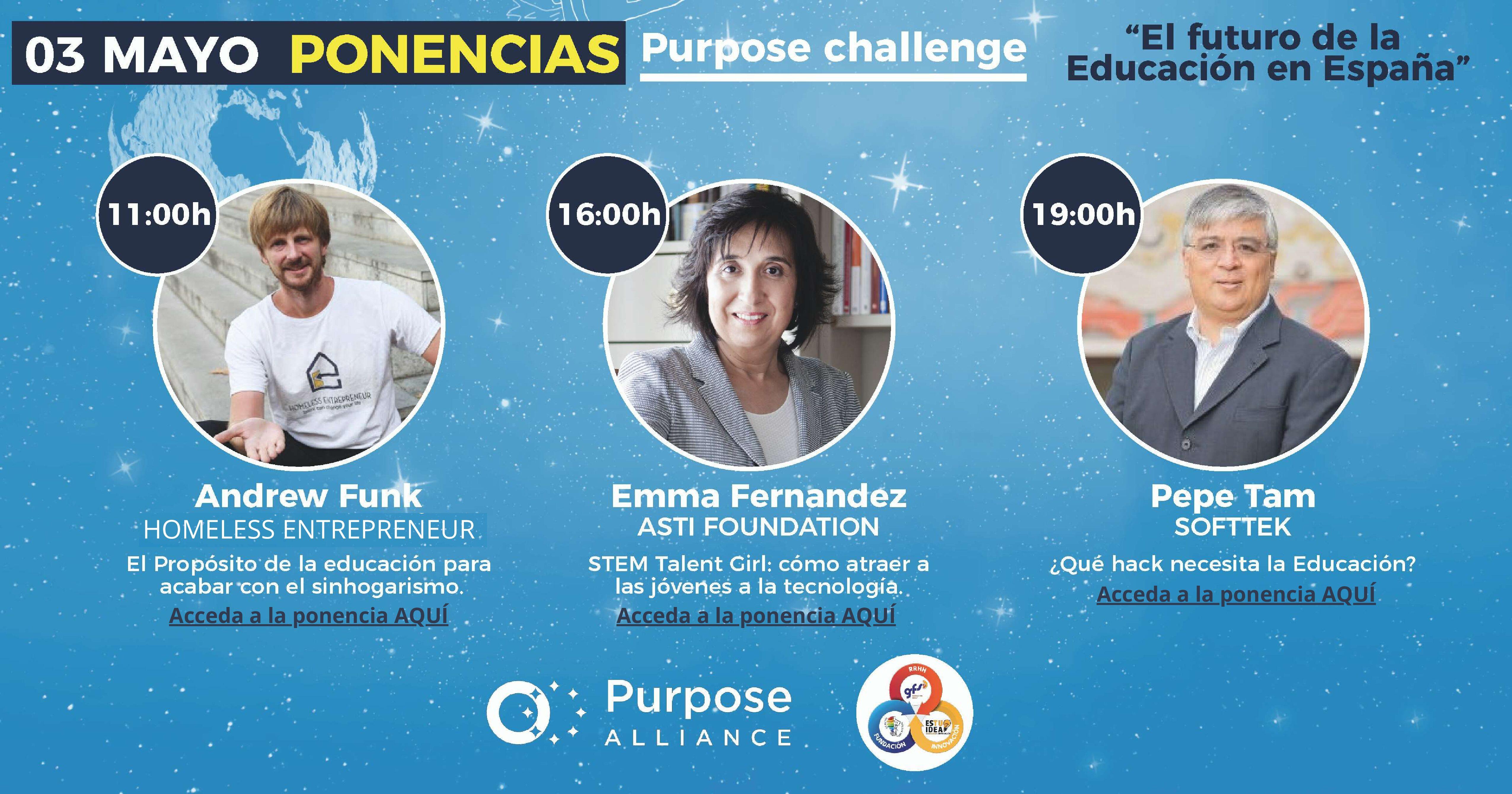 El Futuro de la Educación en España: una serie de ponencias online organizadas por Purpose Alliance