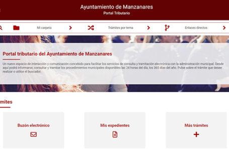 Portal tributario del Ayto de Manzanares