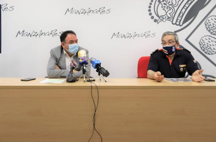 Reconocimiento y apoyo a la labor de Protección Civil durante la pandemia en Manzanares