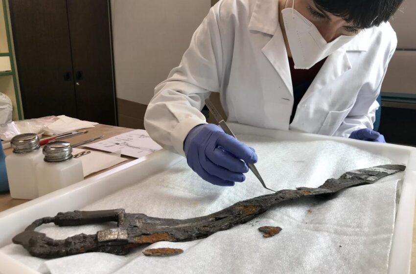Restaurada una de las piezas más importantes del Museo de Ciudad Real, la espada íbera procedente de Alarcos