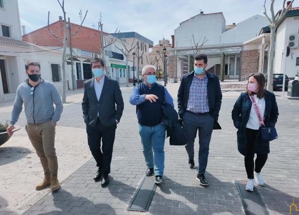 La Diputación compromete en Pedro Muñoz ayudas para diversas acciones en el municipio