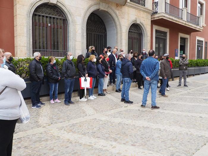 Los hosteleros de Valdepeñas se volverán a concentrar hoy al no obtener respuesta por parte del Consejero de Sanidad