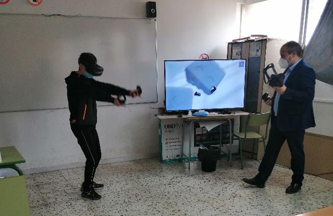 El instituto Gregorio Prieto realiza un proyecto piloto en el aula de Tecnología en colaboración de La Casa del Árbol