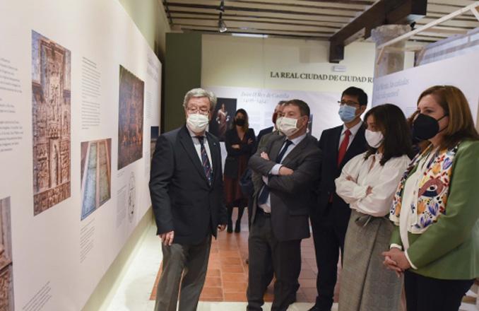 """Caballero: """"Ciudad Real VI Centenario. Una ciudad en la historia' nos ayuda a reconocer nuestros orígenes y mantener nuestra identidad"""""""