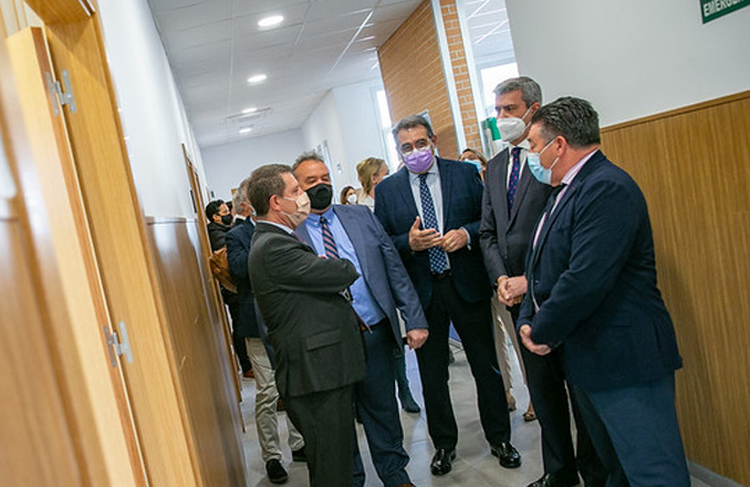 El Gobierno de Castilla-La Mancha continúa con la mejora de los centros de Atención Primaria de la Comunidad Autónoma