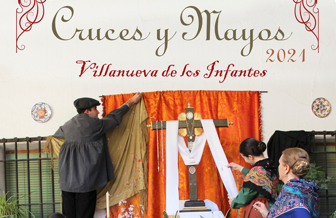 Villanueva de los Infantes se prepara para la celebración de la Fiesta de Cruces y Mayos