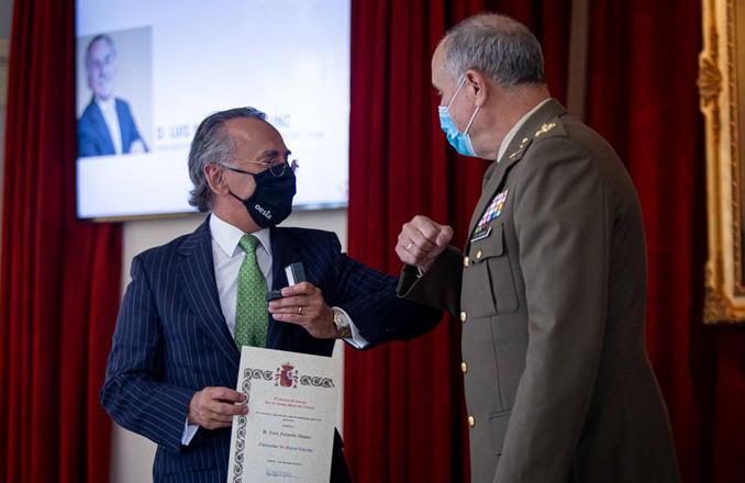 Luis Furnells designado embajador de la Marca Ejército