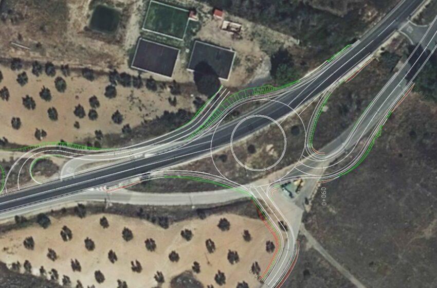 Se compatibiliza la preservación de los restos arqueológicos y la seguridad vial con la nueva rotonda del Peral en Valdepeñas