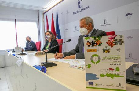La consejera de Economía, Empresas y Empleo ha participado en la presentación de la edición 2020 del libro 'El cooperativismo agroalimentario de CLM en cifras'