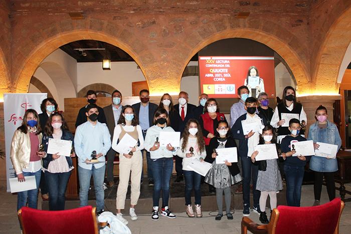 Villanueva de los Infantes cerró los actos del Día del Libro con la entrega de premios Quevedos, Cervantes, Quijotes y Sanchos, con motivo del VI Centenario de Villanueva de los Infantes