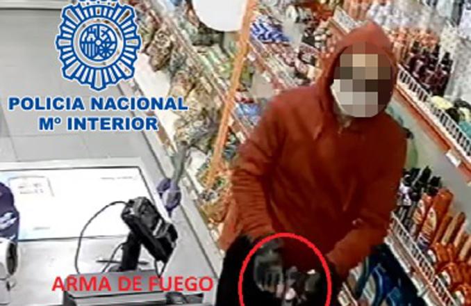 La Policía Nacional detiene al varón que robó la recaudación de una gasolinera de Ciudad Real utilizando un arma de fuego