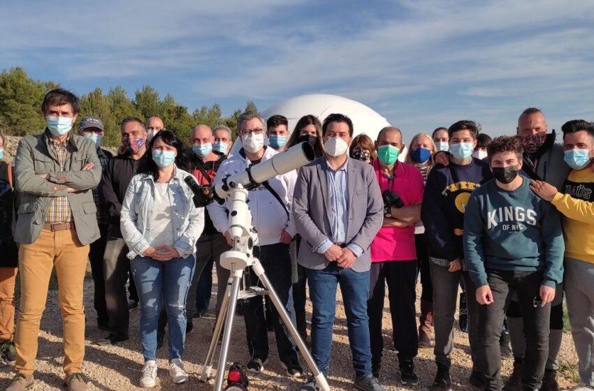 La Universidad Popular de Terrinches imparte un taller de formación e interpretación astronómica en su observatorio