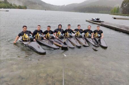 Club Kayak Polo Valdepeñas en la 2ª Categoría Nacional Senior en Verducido (Pontevedra)