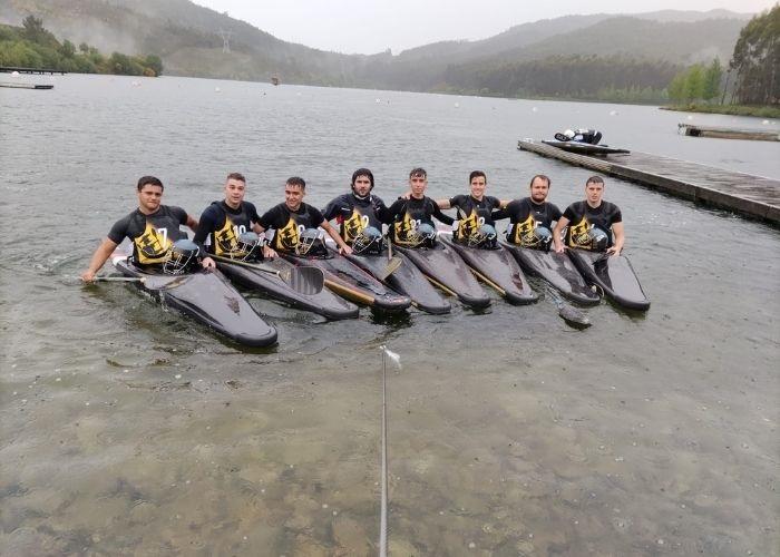 Malos resultados para el Club Kayak Polo de Valdepeñas en Pontevedra