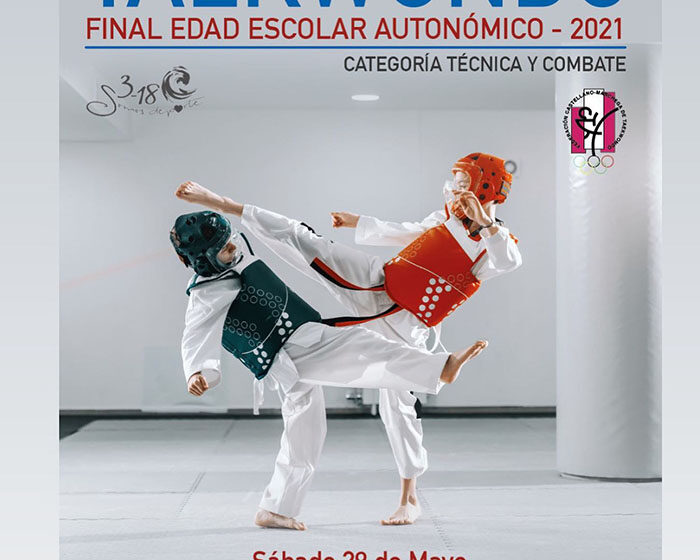 La final de Taekwondo para edad escolar a nivel autonómico se ha llevado a cabo en Valdepeñas