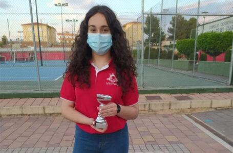María Donado Horcajada, en la categoría de sub 18