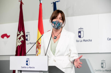 Blanca Fernández, rueda de prensa del Consejo de Gobierno