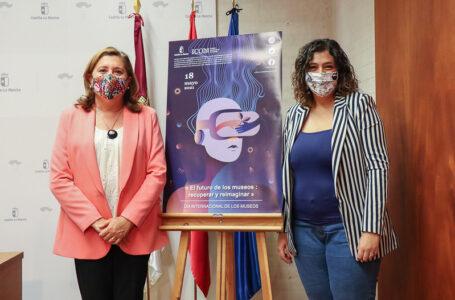 La consejera de Educación, Cultura y Deportes, Rosa Ana Rodríguez junto a la viceconsejera de Cultura, Ana Muñoz